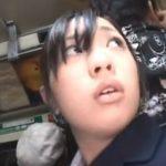 部活帰りの女子校生が痴漢に立ち素股されスパッツの上からシコられる